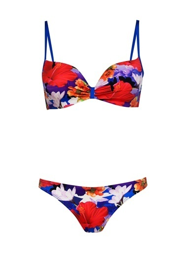 Marc & Andre Bikini Alt Renkli